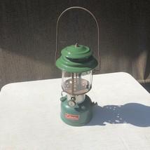 Vintage 1966 Coleman 220F Double Mantle Camping Lantern Green READ DESCR... - $59.99