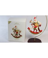 Hallmark Toymaker Santa Rocking Horse Special Edition Keepsake Ornament ... - $34.64