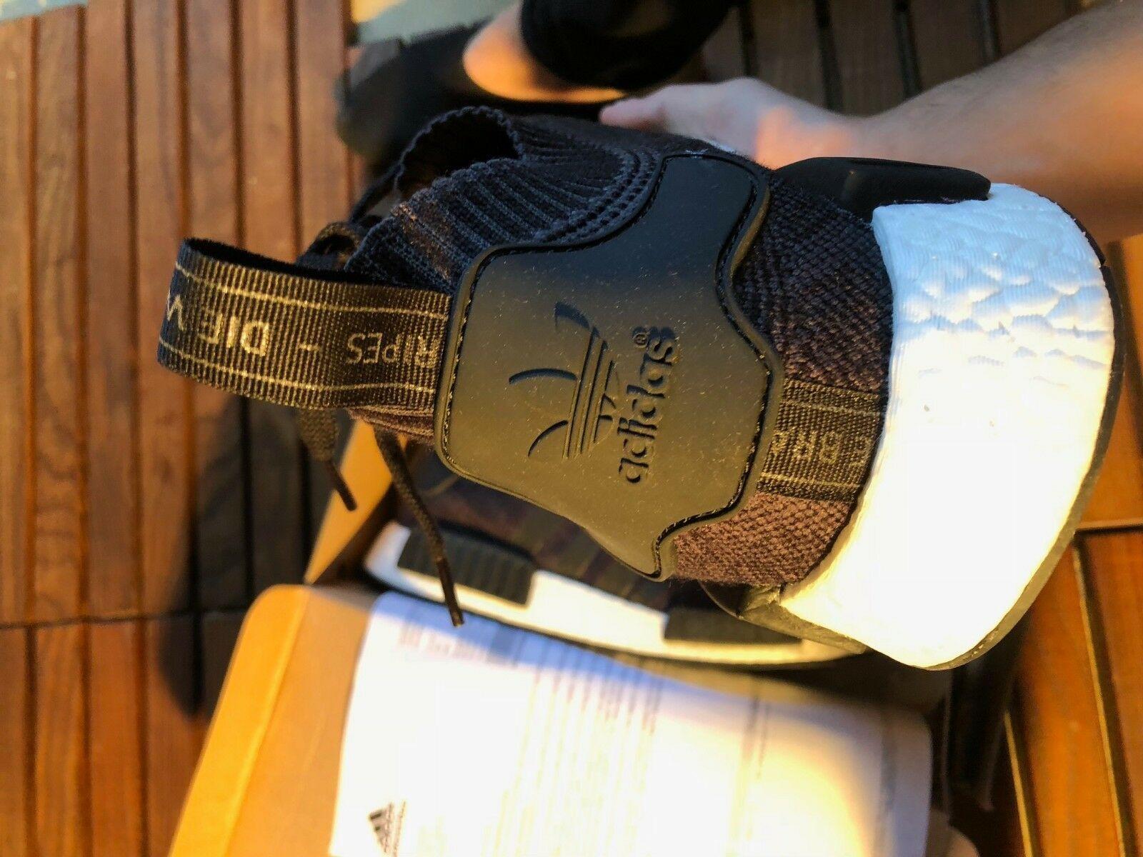 Adidas Black Primeknit Wool Runner Size 48 2/3 New image 4