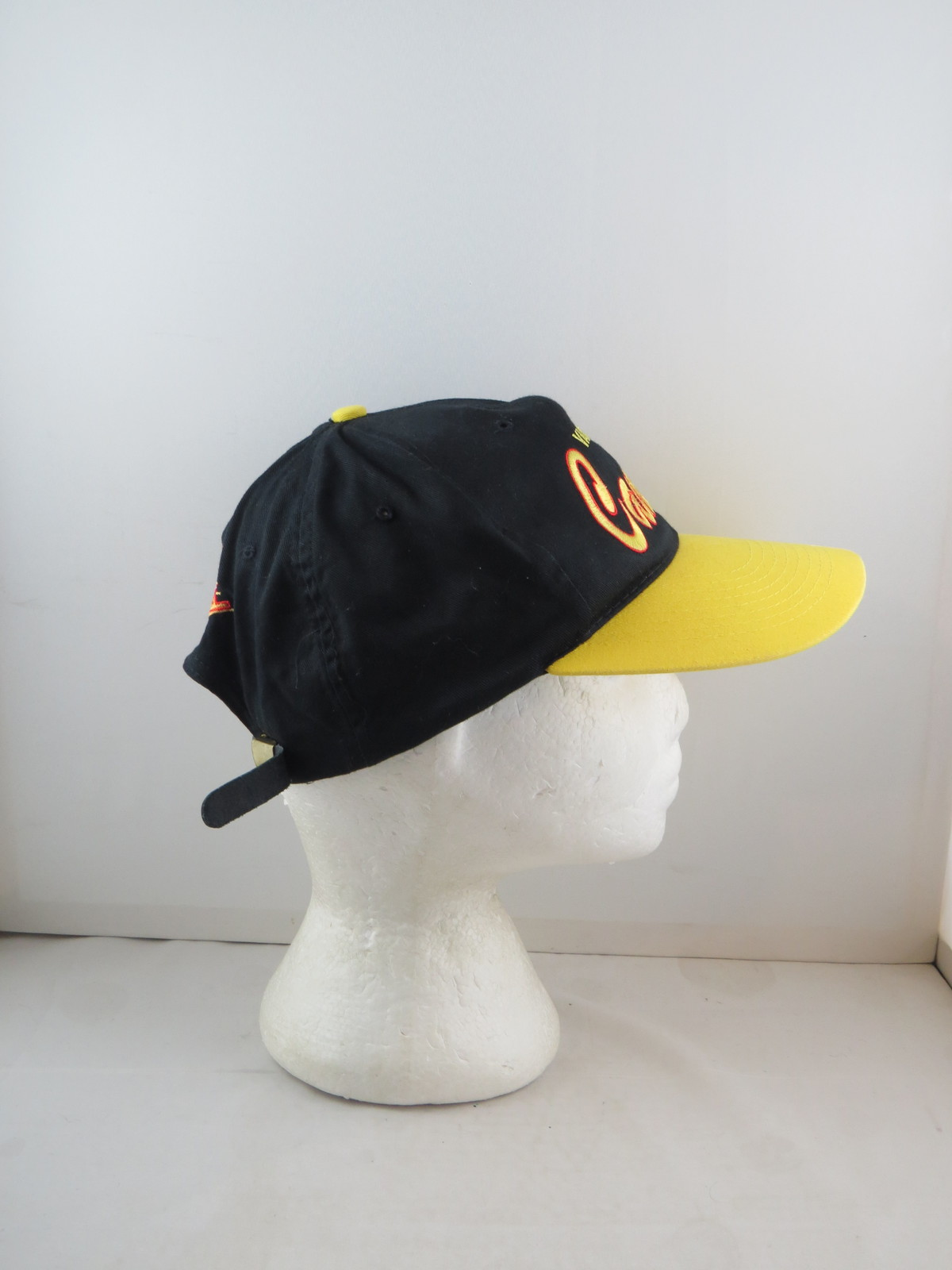 Vancouver Canucks Hat (VTG) - Two Tone Script by Krystal Kaps - Adult Strapback