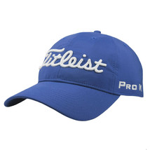NEW! Titleist Unisex 'PRO-V1' 'FJ' Tour Performance Hat-Blue/White - $59.28