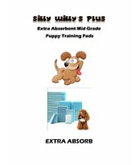 """23x24"""" Extra Absorb 4-Layer Puppy Dog 2x's Reusable Training Pads 200-40... - $32.95+"""