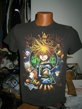 kingdom hearts video game t-shirt adult size S disney ps4 xbox one micke... - $9.90