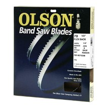 Olson Craftsman 70-1/2 Inch x 1/4 Inch 6 TPI Skip Tooth Flex Back Band Saw Blade - $15.77