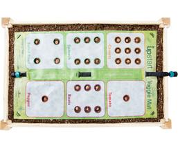 Upstart VEGETABLE Mat 2' x 3' Include 27 Different VEGGIE Seed Balls-Hos... - $24.70