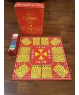 The Game of Catholic Trivia 1985 Catholic Bingo Board Game by Cadaco - C... - $23.83