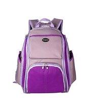 Purple,Faddish WaterProof High Capacity Baby Bottle Tote Bag/Shoulder Bag