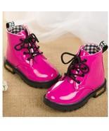 Girls Hot pink boots kids fashion boots children's snow boots high qual... - $49.99+