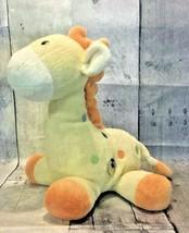Carters Yellow Music Giraffe Small Polka Dot Baby Plush Lovey Child of M... - $99.99