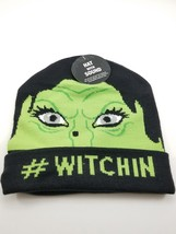 "Halloween Hat with Laughter Sounds. Black Beanie. Face ""WITCHIN"" NEW Kids - €8,24 EUR"