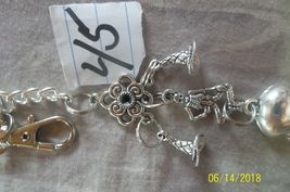 # purse jewelry Halloween style keychain backpack filigree dangle charm #45 image 3