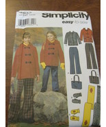 Simplicity 4837 Size HH 3,4,5,6 Easy To Sew Gir... - $9.95