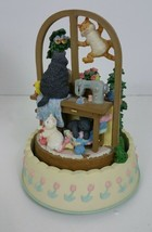"San Francisco Music box ""Cats make a house a home"" rotates plays ""Close ... - $79.99"