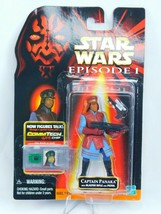 Star Wars Episode 1 Captain Panaka New Sealed Comm Tech Chip Collection ... - $24.30
