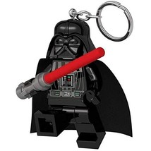 LEGO Star Wars Darth Vader with Lightsaber Key Light - Minifigure Key Ch... - $11.87