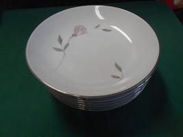 Beautiful Mikasa Fine China Primrose....Set Of 8 BREAD-SALAD-DESSERT Plates - $19.12