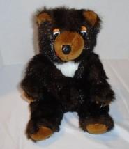 "Circus Circus vintage plush Brown Bear  stuffed animal toy 12"" - $10.39"