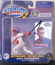 2001 Starting Lineup 2 Extended Series Alex Rodriguez Texas Rangers MLB ... - $5.64