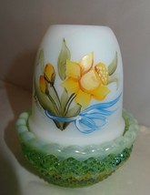 Mosser Glass Hp Sunshine Gallore Green Opal Glimmer Fairy Light Lamp 209 B-3 - $24.99