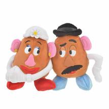 Disney Store Japan Mr.Potato Head & Mrs. Potato Head Valentine Plush New... - $17.61