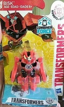 "TRANSFORMERS BISK COMBINER FORCE 2.5"" ACTION FIGURE 2015, new in package... - $6.85"