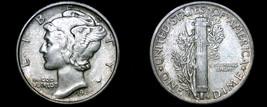 1945-S Mercury Dime Silver - $14.99