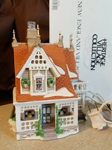 Dept 56 New England Village Series 1996 BOBWHITE COTTAGE 56576 Retired 2001 - $22.00