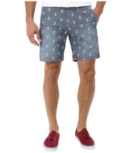 Men's Big Star MFG 1974 Shorts Straight Leg Chino Short Stone Tile Gray NEW