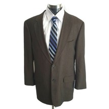 CALVIN KLEIN CK Men's  Sport Coat Jacket Wool  Blazer 42 L - $39.59