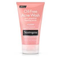 Oil-Free Acne Face Wash Pink Grapefruit Foaming Scrub, Salicylic Acid - $17.17
