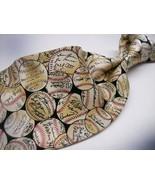 MUSEUM ARTIFACTS Baseballs and SIGNATURES  Mens 100  SILK Necktie 0 217 - $19.99