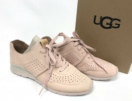 UGG Australia Tye Lace Up Leather Perforated Fashion Sneakers 1016674 Qu... - $59.99