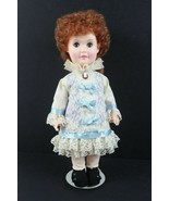"""Vintage 1980 Effanbee Day by Day Series Red Hair Doll 12"""" w/Stand - $33.63"""