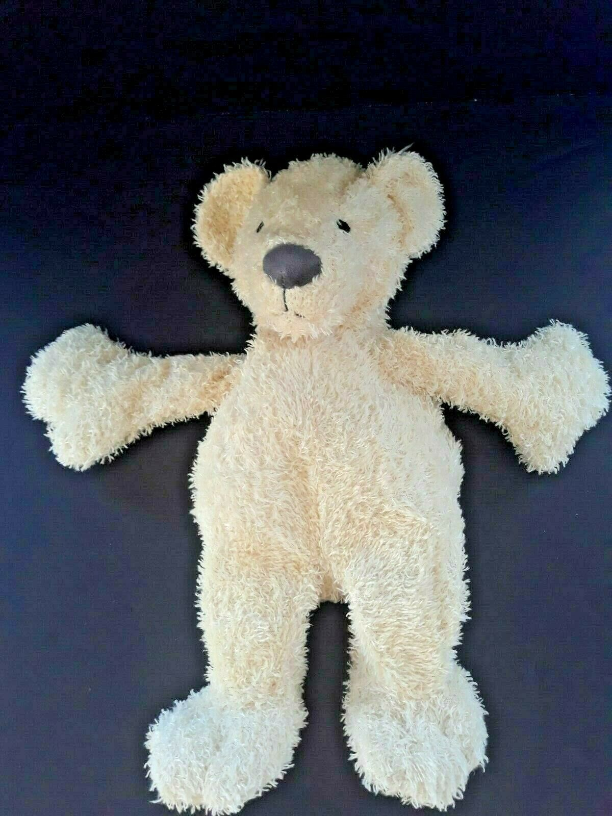 "Primary image for Manhattan Toy Cream Bear 16"" Grey Paws Plush Floppy Beanbag 16"""