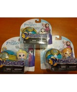 3 Different Series 3 Disney FROZEN Mash'ems Elsa Olaf & Anna - $24.74