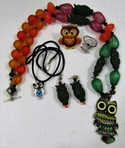 Lot of Owl Jewelry - $15.00