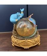 Disney Aladdin Genie Snow Globe Snow Dome Figure Ornament - $177.21