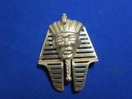 TRIFARI PHAROH PIN - DENT UNDER EYE - $15.00