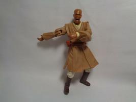 2001 Hasbro Star Wars Attack Of The Clones Mace Windu Geonosian Rescue  - $1.93