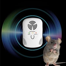 Ultrasonic Electronic Pests Repeller Mouse Mice Electromagnetic Rat Repe... - $20.16