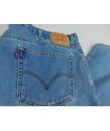 Levis 560 Comfort Fit Men Blue Denim Jeans W 48 L 34 - $59.99