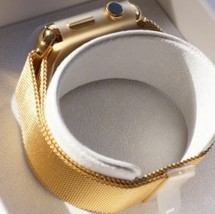 24K Gold Plated 42MM Apple Watch Series 2 with Gold Milanese Loop - $650.77