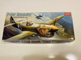 Academy 1:72 P-40 E Warhawk Plastic Aircraft Model Kit - $20.00