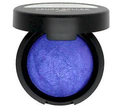 Laura Geller Baked Pearl Eyeshadow - Tribeca Blue (electric cobalt) New - $7.99