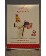 Hallmark - Patriotic Pals - Happiness Is Peanuts - Snoopy Woodstock - Or... - $10.80