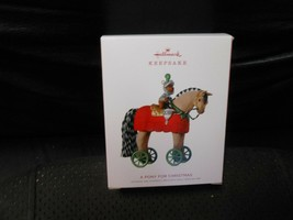 "Hallmark Keepsake ""A Pony For Christmas"" 2018 Ornament NEW 21st in Series - $6.58"