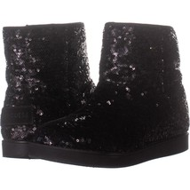 G By Guess Asella Short Winter Boots 501, Black Multi, 8 US - $28.79