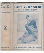 Captain John Smith by C. H. Forbes-Lindsay 1911 in rare dj - $60.00
