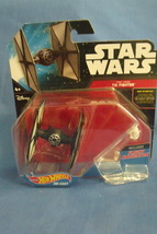 Toys Mattel NIB Hot Wheels Disney Star Wars First Order Tie Fighter - $9.95
