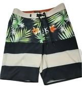 VANS Mens Surf Swim Beach Floral Print Board Shorts Size 28 - $28.66